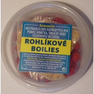 Rohlíkové boilies - Česnek