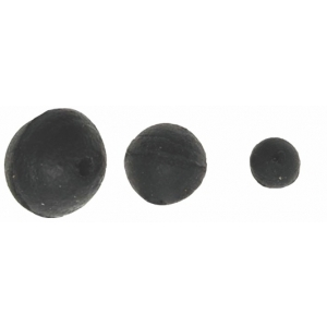 Gumová kulička Carp System - černá 6mm
