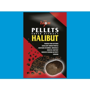 Halibut Pellets Carp Zoom - s otvorem - 2,5 kg 15mm