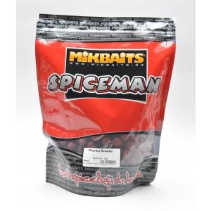 Mikbaits Spiceman trvanlivé boilie 16mm 1kg - Pikantní Švestka