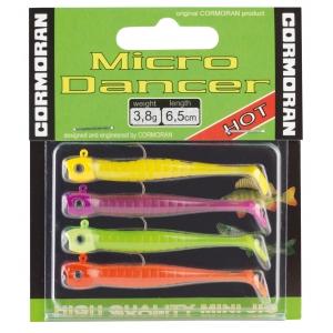 CORMORAN - MICRO DANGER 6,5cm - jasné barvy - set 4ks