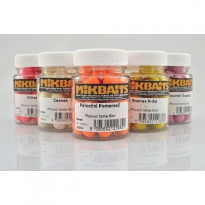 Mikbaits Plovoucí fluo boilie 10mm 60ml - Oliheň