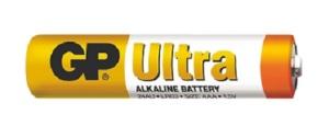 Alkalická baterie GP Ultra LR03 (AAA), 1 ks
