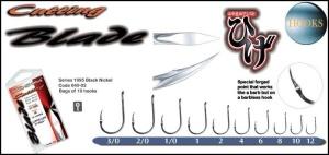 Awa-shima Cutting Blade 1095 - bez protihrotu č.1/0 10ks