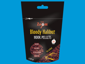 Bloody Halibut Hook Pellets s otvorem 150g Carp Zoom - 20mm