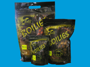 Boilies Boss2 16mm - 1kg Václavík - Cherry-Super crab