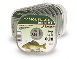 Broline CAMOUFLAGE 10m 0,14 mm 10,3 kg