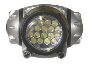 Čelovka - led svítilna 18 + 2 diody