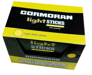 Chemické světlo Cormoran 37,0x4,5mm 2ks - červené