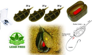 Extra Carp Method Feeder IN LINE SET 3+1 - 7203