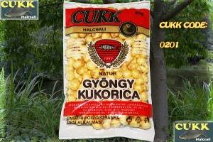Foukaná kukuřice Cukk 25g - Med