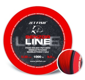 Vlasec Jet Fish Senzor line - 1000 m 0,30mm 9,9kg