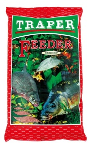 Krmítková směs Secret Feeder Traper 1kg - Červený