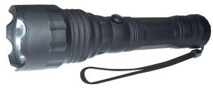 LED svítilna, ABS materiál, 1x LED 3W, na 3x AAA