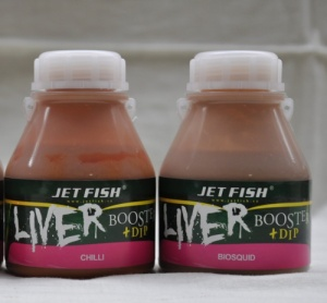 Liver booster + dip 250ml Jet Fish - Biocquid (oliheň)