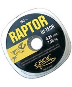 Vlasec Esox Raptor Hi-Tech 100m - 0,14 mm - nosnost 2,65 kg