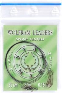Wolframové Lanko 15kg 2ks - 45cm