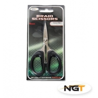 NGT Nůžky Braid Scissors Black