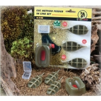 Extra Carp Method Feeder Set 20,30,40g + formička - 8132