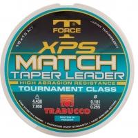 Ujímaný vlasec Trabucco TF XPS Match Taper Leader