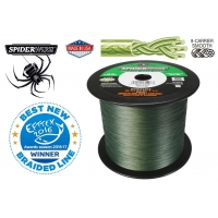 Pletená šňůra Spiderwire Stealth Smooth 8 - Moss Green