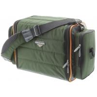Cormoran taška zpevněná dvoupatrová na nástrahy s krabičkami 5006