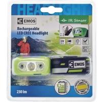 Čelovka EMOS P3534 1x CREE XPE LED 5W nabíjecí