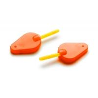 Extra Carp Čihátko Bite Indicator 2ks + Light Stick Zdarma! - červená
