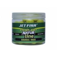 Jet Fish Natur line pop up boilie Kukuřice 12mm 40g