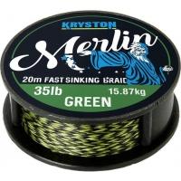 Kryston pletená šňůrka - Merlin Green