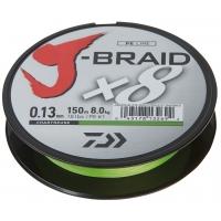 DAIWA ŠŇŮRA J-BRAID X8 CHARTREUSE 150m