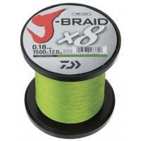 DAIWA ŠŇŮRA J-BRAID X8 CHARTREUSE 1m