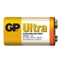 Alkalická baterie GP Ultra 6LF22 (9V), 1 ks