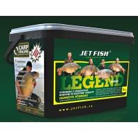 Jet Fish Boilies LEGEND - 20mm - 3kg Seafood + švestka / česnek - akce